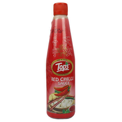 tops-red-chilli-sauce-hdpe-bottle-650-gm